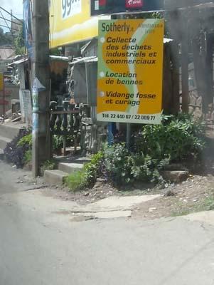 Sotherly, une société privée de ramassage des ordures